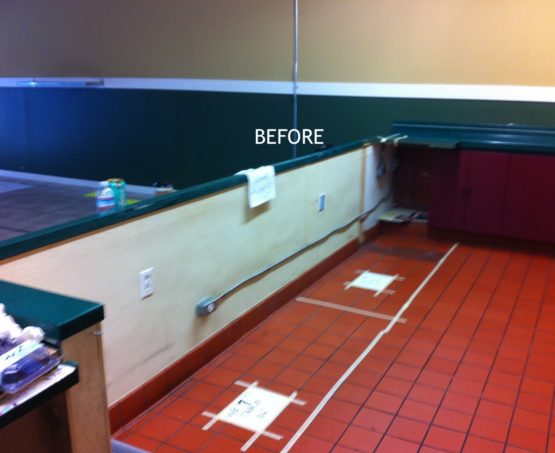 WARose Construction: Before pictures of Baygreens cafe remodel in Oakland