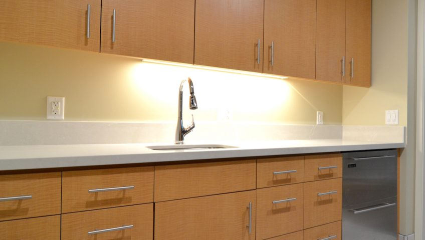 WARose was the contractor for the renovation of 2 kitchens and 4 bathrooms at the Martinez UFCW facility, to include new countertops, cabinets and flooring