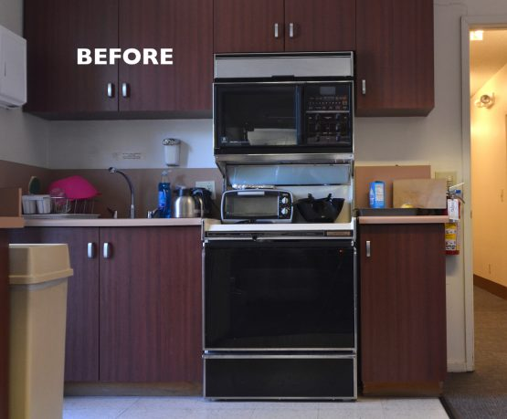 WARose Construction UFCW kitchen remodel project