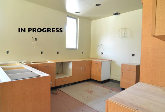 WARose Construction UFCW, remodeling kitchens and bathrooms, in progress