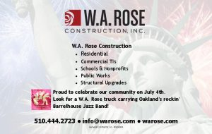 WARose Piedmont Post July 4-1