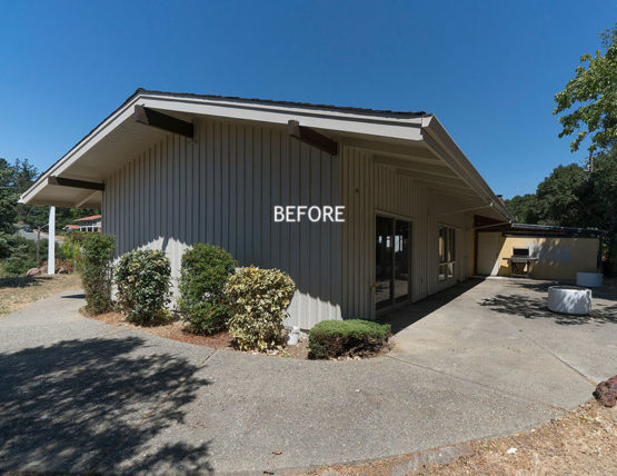 WARose Construction: A Before picture of the renovation of the NEC church in Moraga.