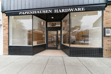 WA Rose Construction: We did a complete rebuild for Papenhausen Hardware after it was badly damaged by fire in SF's West Portal neighborhood