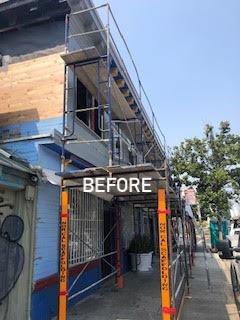 WARose Construction: upgrading a multiuser building in Oakland's Uptown neighborhood